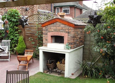 brick oven for backyard brick box image outdoor brick oven
