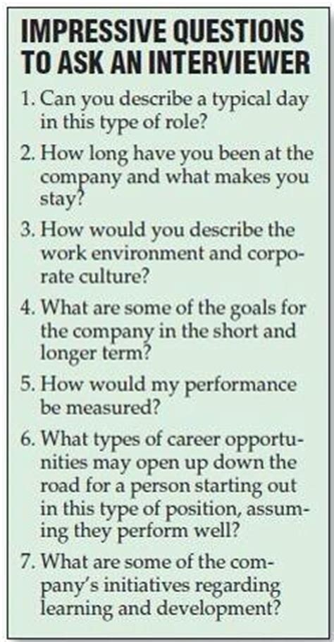 Question To Ask During Or Questions To Ask Your Interviewer