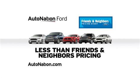 lady on autonation add autonation ford sales drive tv commercial game changing