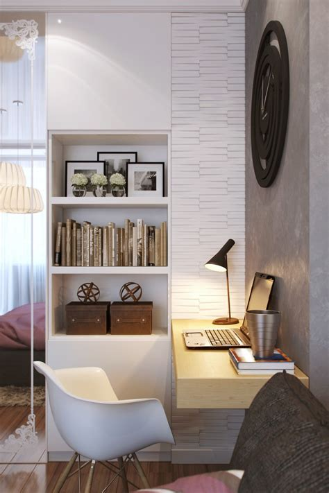 small office space in bedroom small bedrooms use space in a big way