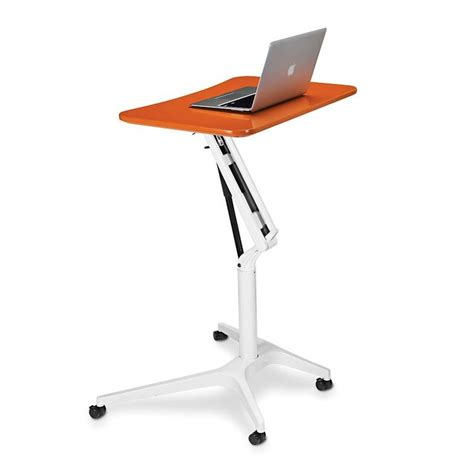 Ergonomic Laptop Desk Portable Workstation Sit To Stand Rolling Workstation Ingenious And Nicely Priced I Ve Dreamed Of Something Like