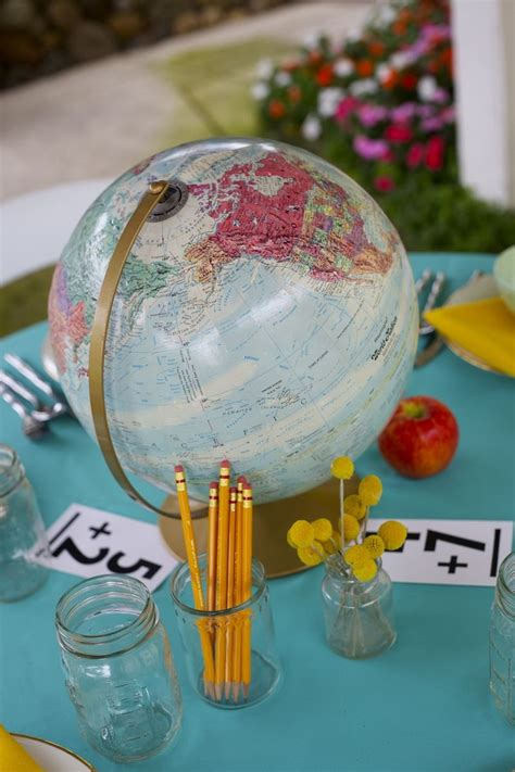 Pinterest World Globe Centerpieces