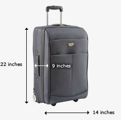 united bag policy personal item
