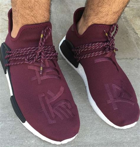 Nmd Human Race Friends And Family pharrell x adidas nmd human race quot burgundy quot f f