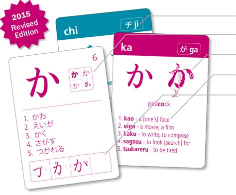 printable katakana flash cards images images japanese hiragana omniglot