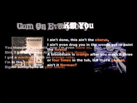 eminem orange all 12 songs where eminem rhymes with orange youtube