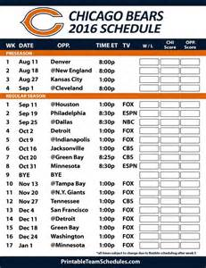 Jaguars Schedule Preseason The 25 Best Bears Schedule Ideas On Bears