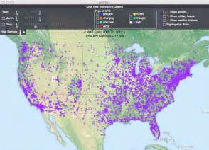map of bigfoot sightings in the united states ghost theories maps revealing secrets of