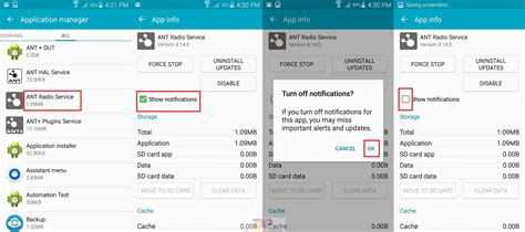 turn notifications android disable android notification turn notifications for any apps