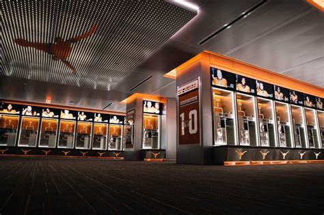 sports lockers for rooms longhorns locker room now a football palace san antonio express news