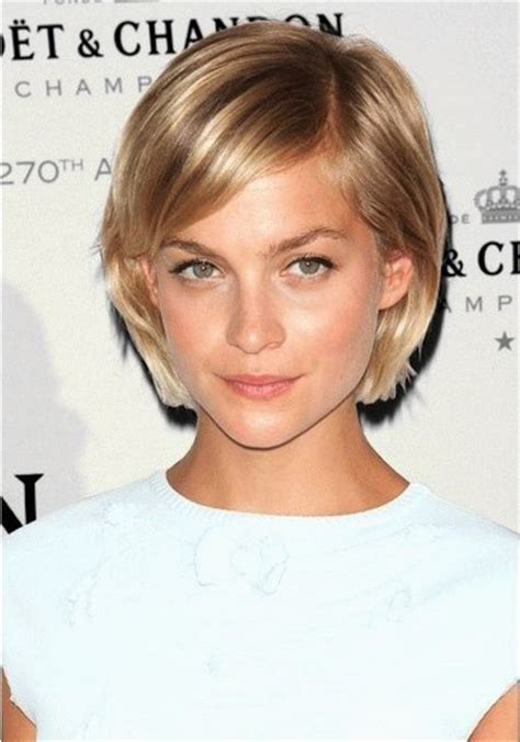 side pictures of bob haircuts long bob hairstyle for fine hair with side part and waves