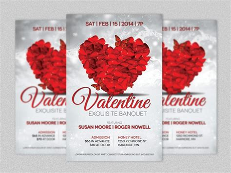 valentines event most popular valentines day flyer template deals out there