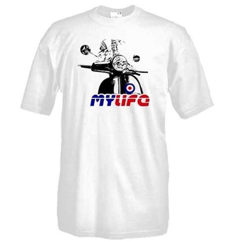 T Shirt Vespa 5 vespa t shirt for only 163 15 82 at merchandisingplaza uk