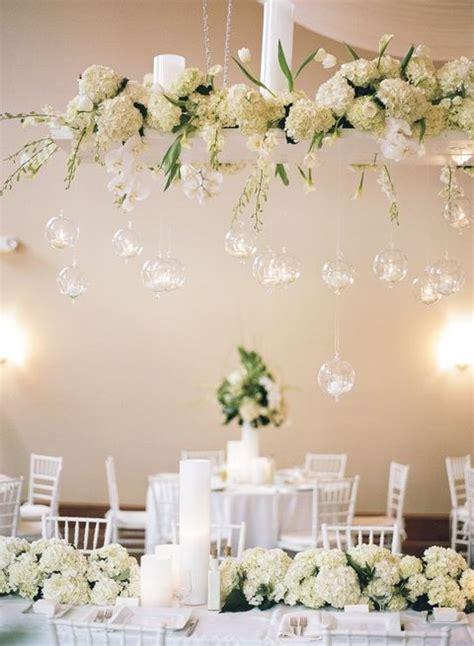 Flowers Hanging Overhead Wedding Reception: 37 Ideas