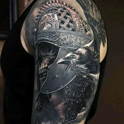 tattoo 3d viking 90 cool arm tattoos for guys manly design ideas
