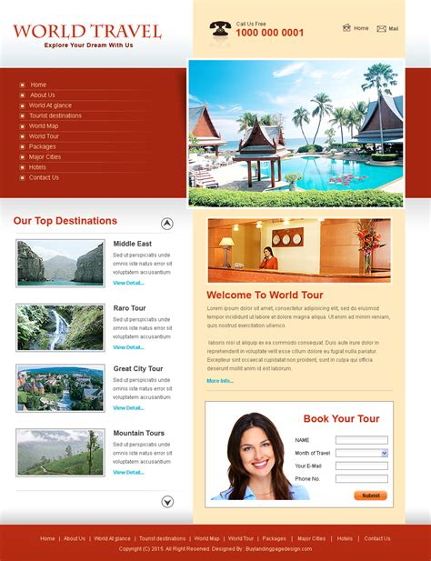 download free landing page design and website templates