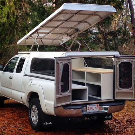 pop up truck bed cers tacoma aluminum pop up expedition portal