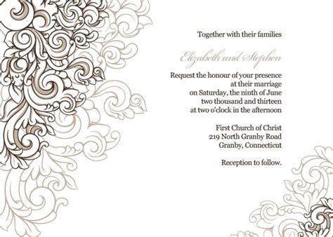 Wedding Invitations Borders by 67 Best Free Printable Wedding Invitations Images On