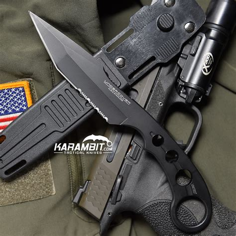 Karambit Survival 2 united cutlery undercover combat fighter w tanto blade karambit