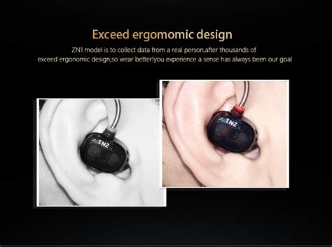 Knowledge Zenith Dual Dynamic Driver Earphones With Mic Kz Zn1 knowledge zenith dual dynamic driver earphones with mic kz zn1 black jakartanotebook