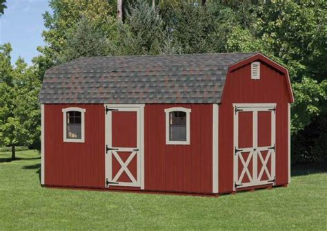 12 x16 pine barn storage sheds chester