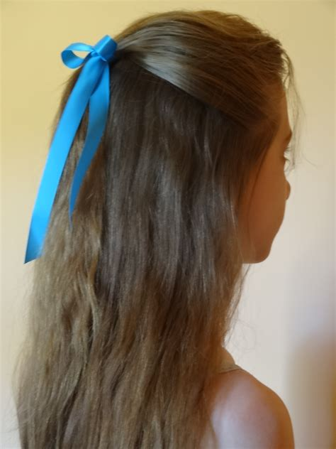 how to do half ponytail hairstyles hairstyles for private school yahoo answers