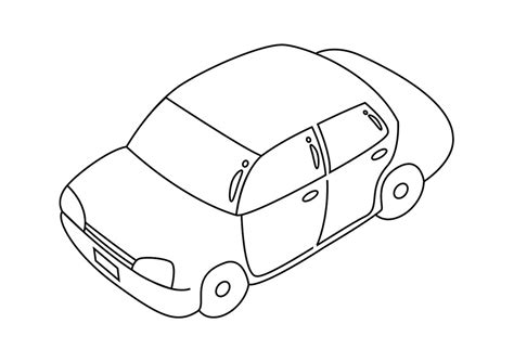 car pictures to color free printable car coloring pages for