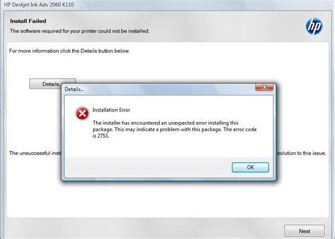 Printer Hp 2060 K110 hp ink advantage 2060 cannot open scan program hp support forum 3980788
