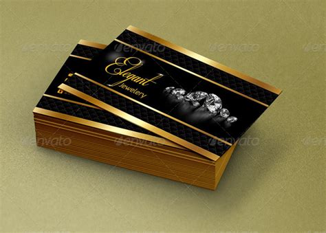business card jewelry templates jewelry business card qa design by qaderamirifard
