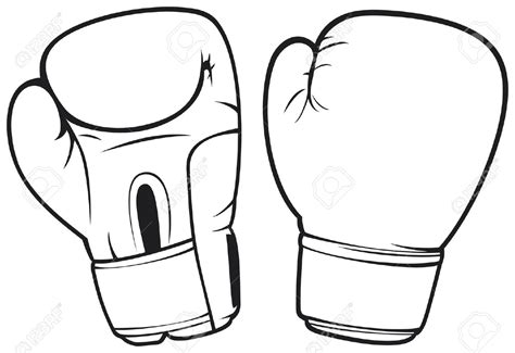 Boxing Gloves Coloring Pages Boxing Glove Clipart Many Interesting Cliparts by Boxing Gloves Coloring Pages