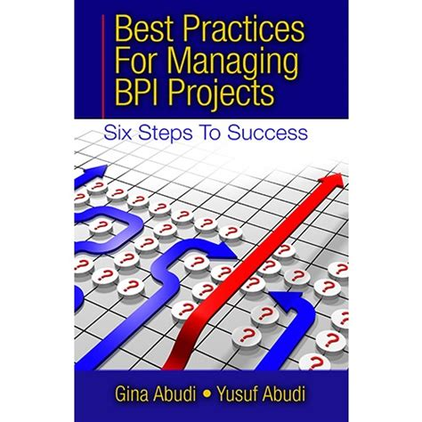 best practices for managing bpi projects six steps to success