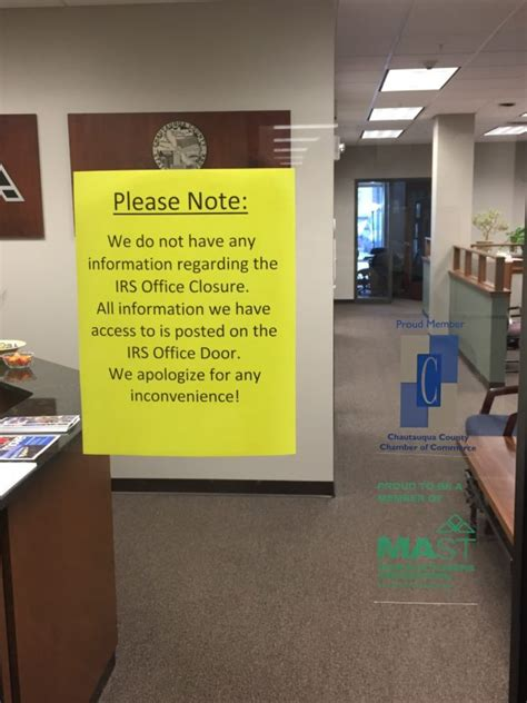 Irs Tax Office irs office to re open after inquiry from reed news sports post journal