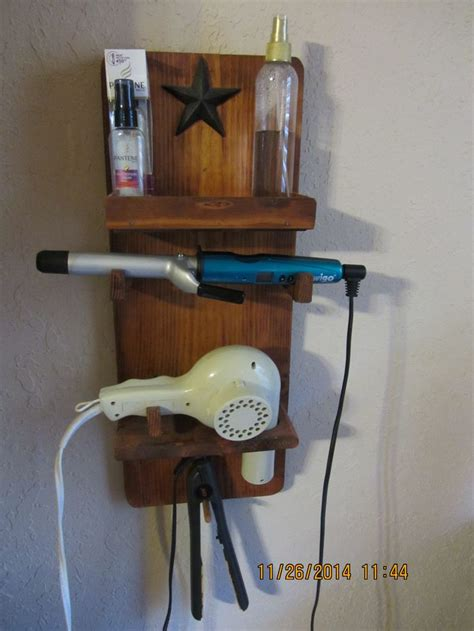 Hair Dryer And Straightener At s hair organizer cedar and holds