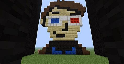 10th doctor pixel art minecraft doctor who map pixel art minecraft project