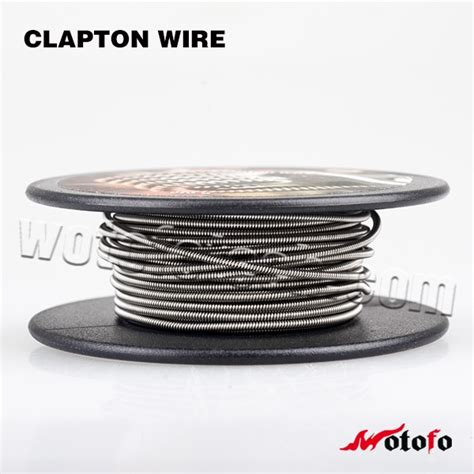 Comp Wire Caterpillar Clapton By Wotofo wotofo comp rolls pre made clapton wire