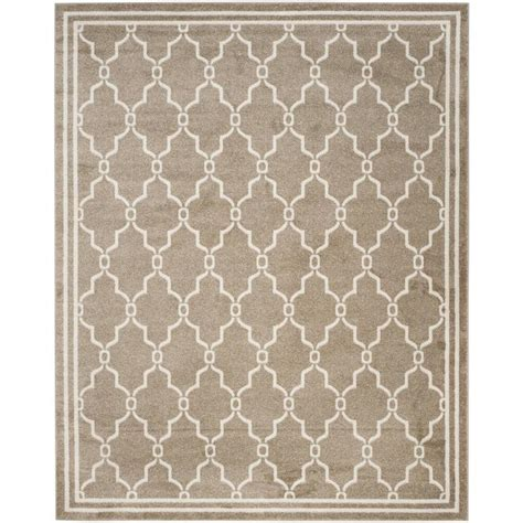 Outdoor Rug 8 X 10 Shop Safavieh Marion Wheat Beige Indoor Outdoor Area Rug Common 8 X 10 Actual 8 Ft W X 10 Ft
