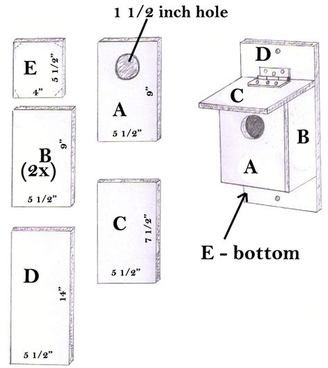 How To Build A Bluebird House Plans One Board Birdhouse Search Ww Birdhouses Squirrel Feeders Plans Ideas