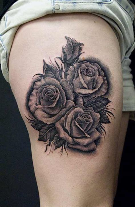 3d black rose tattoos 3d design of tattoosdesign of tattoos