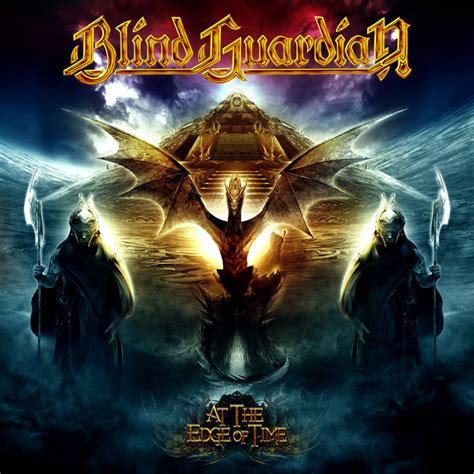 Cd Blind Guardian A Voice In The Obi cover of at the edge of time en blind guardian fr