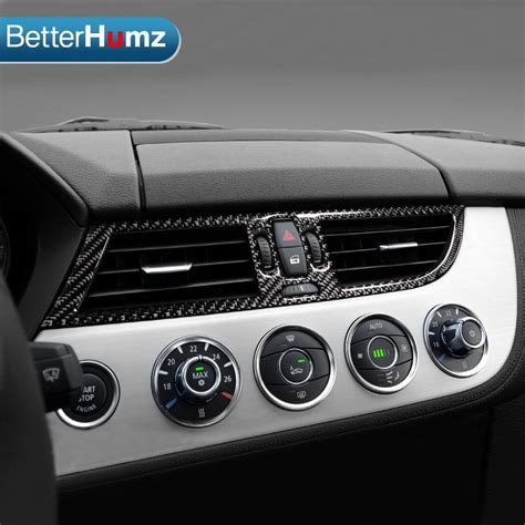 automobile air conditioning repair 2009 bmw z4 m roadster head up display for bmw z4 carbon fiber car central air conditioner outlet frame stickers trim covers for e89