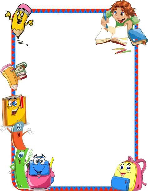 imagenes para tareas escolares bordes para fotos de pinceles animados buscar con google