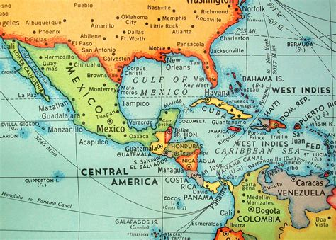 mexico america map cuba mexico central america cheeky jaunt