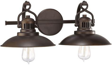 retro vanity lighting fixtures capital lighting 3792bb oneill retro burnished bronze 2