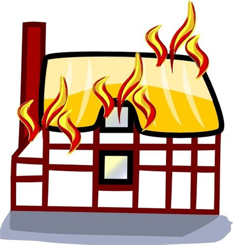 house fire insurance house fire insurance clip art free vector in open office drawing svg svg vector