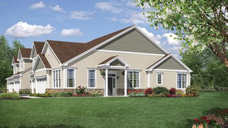 tamarack elite at newtown woods townhome collection walnut ii