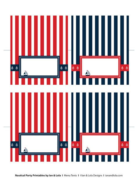 free printable nautical labels google search