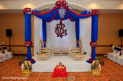 mandap in st petersburg fl indian wedding by sona