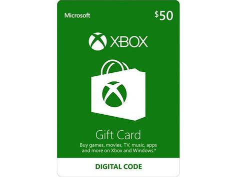 States Where Gift Cards Can Be Redeemed For Cash - xbox gift card 50 us email delivery newegg com