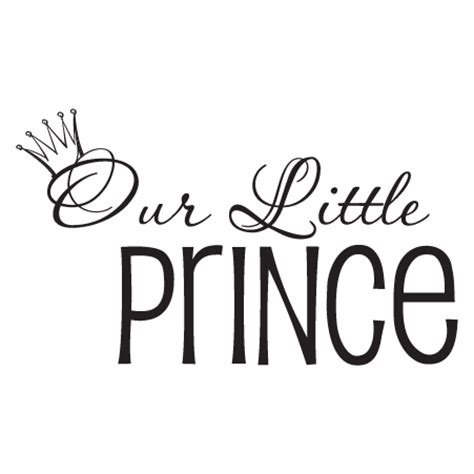 Sticker Decals For Walls our little prince wall quotes decal wallquotes com