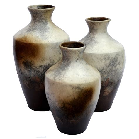 Vase Sts by Timbre Vases Set Of 3